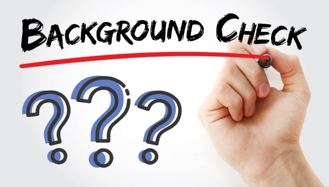 Why should, go for a background check?