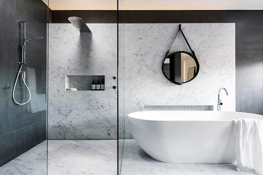 How to choose each kind of material in bathroom designing